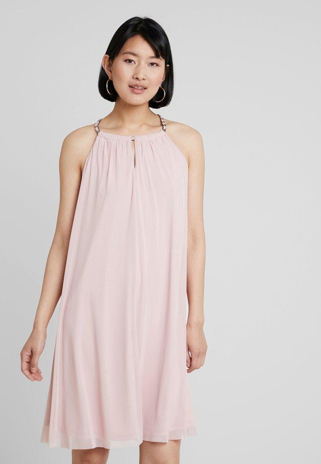 Koktejlové šaty/ šaty na párty - old pink