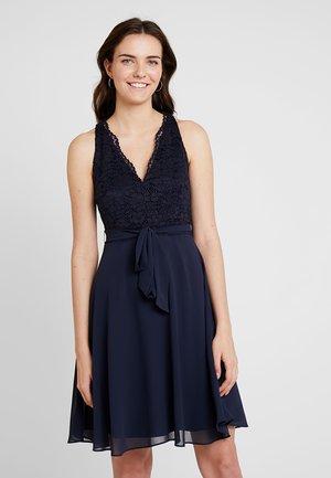 MIX - Koktejlové šaty/ šaty na párty - navy