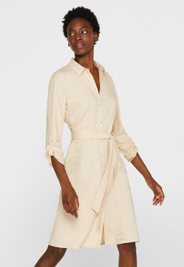 Esprit Collection - Blusenkleid - light beige