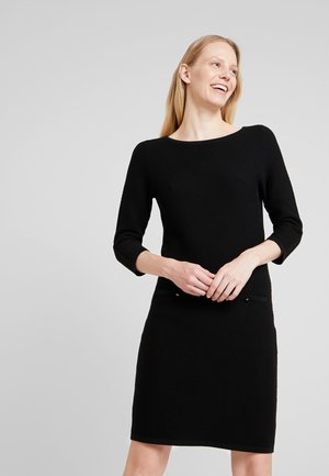 STRUCTURED - Jumper dress - black