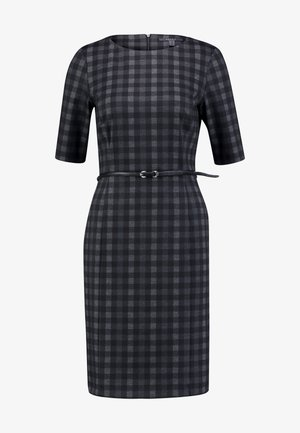 BELT DRESS - Vestido de tubo - black