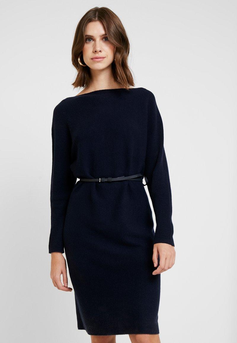 Esprit Collection - TONE DRESS - Strickkleid - navy
