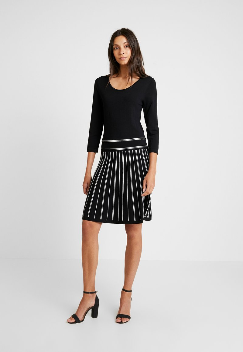 Esprit Collection - FLARED DRESS - Robe pull - black