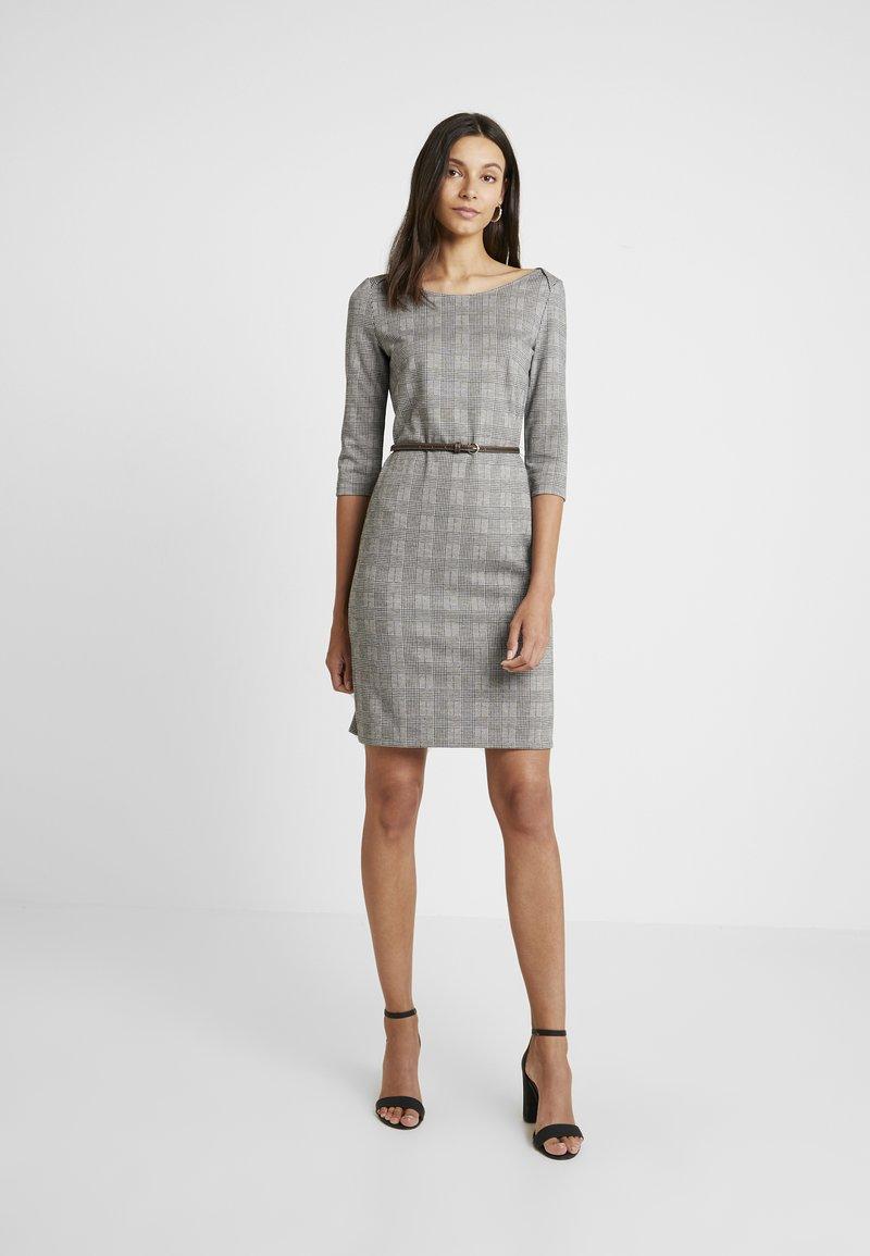 Esprit Collection - BELT DRESS - Jerseykleid - camel