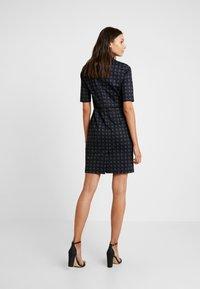 Esprit Collection - CHECKED DRESS - Fodralklänning - navy - 2
