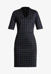 Esprit Collection - CHECKED DRESS - Fodralklänning - navy - 3