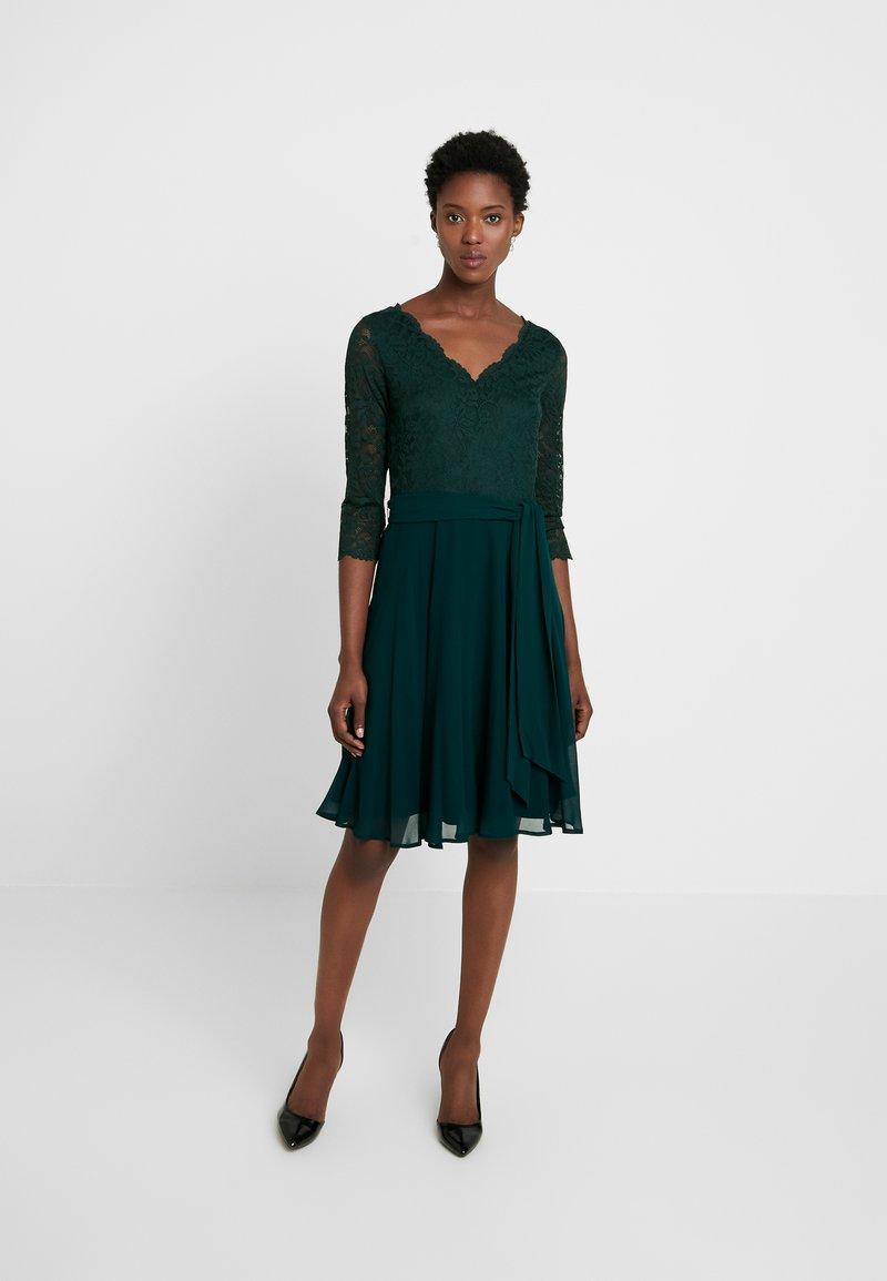 Esprit Collection - OCTAVIA STRETCH - Cocktail dress / Party dress - dark teal green