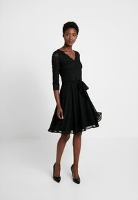 Esprit Collection - OCTAVIA STRETCH - Juhlamekko - black - 2