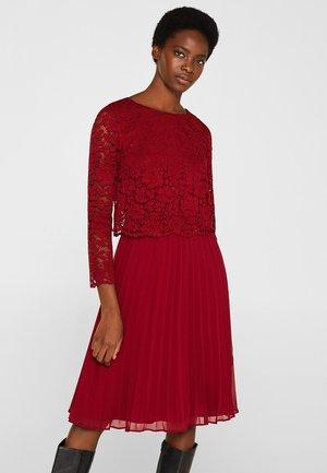 CHRISTINA - Cocktail dress / Party dress - dark red