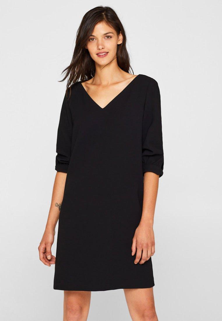 Esprit Collection - Denní šaty - black