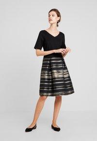 Esprit Collection - SHINE LUXE - Cocktailkleid/festliches Kleid - black - 0