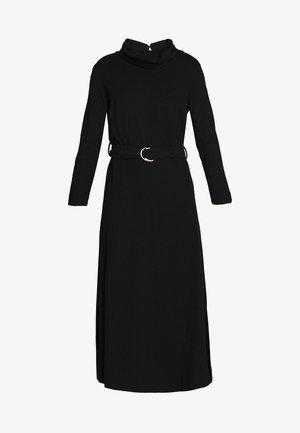 ROLL NECK DRESS - Sukienka z dżerseju - black