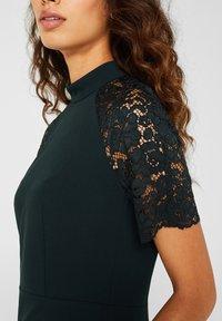 Esprit Collection - DRESS - Shift dress - dark teal green - 4