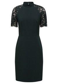 Esprit Collection - DRESS - Shift dress - dark teal green - 0