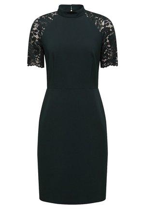 DRESS - Shift dress - dark teal green