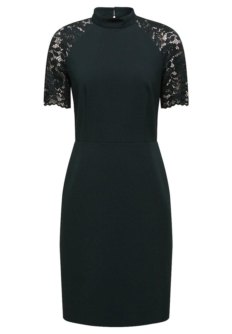 Esprit Collection - DRESS - Shift dress - dark teal green