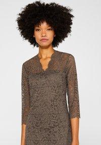 Esprit Collection - DRESS - Robe de soirée - taupe - 3
