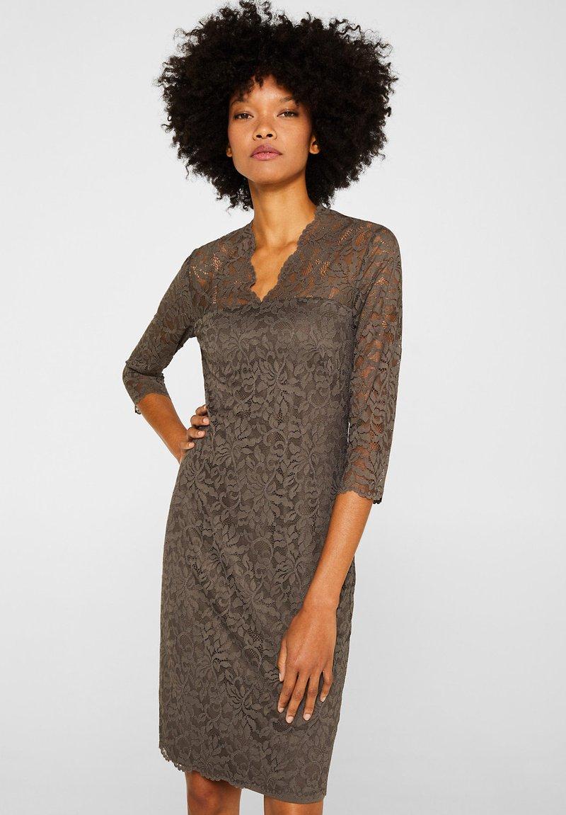 Esprit Collection - DRESS - Robe de soirée - taupe