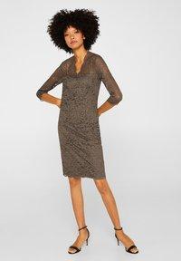Esprit Collection - DRESS - Robe de soirée - taupe - 1