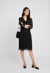 Esprit Collection - DRESS - Cocktail dress / Party dress - black - 1