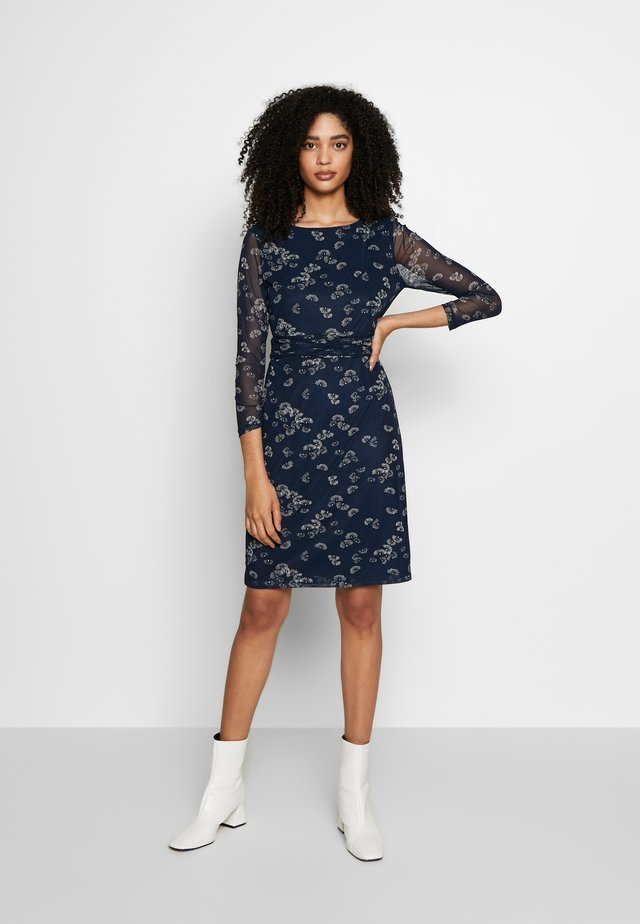 DRESS - Korte jurk - navy