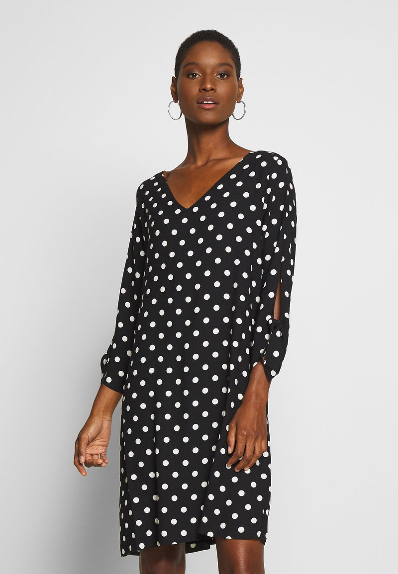 Esprit Collection - MATT SHINY - Korte jurk - black