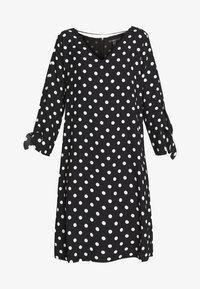 Esprit Collection - MATT SHINY - Korte jurk - black - 4