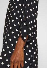 Esprit Collection - MATT SHINY - Korte jurk - black - 5