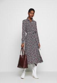Esprit Collection - VOLANT  - Skjortekjole - black - 1