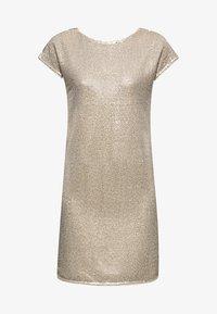 Esprit Collection - MIT PAILLETTEN - Cocktail dress / Party dress - cream beige - 5