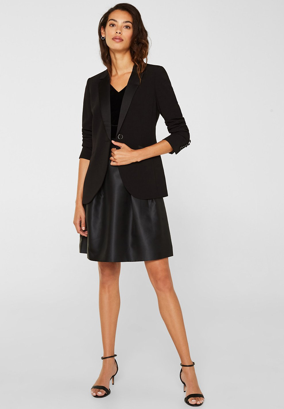 Esprit Collection Sukienka letnia - black