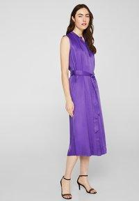 Esprit Collection - Blusenkleid - purple - 1