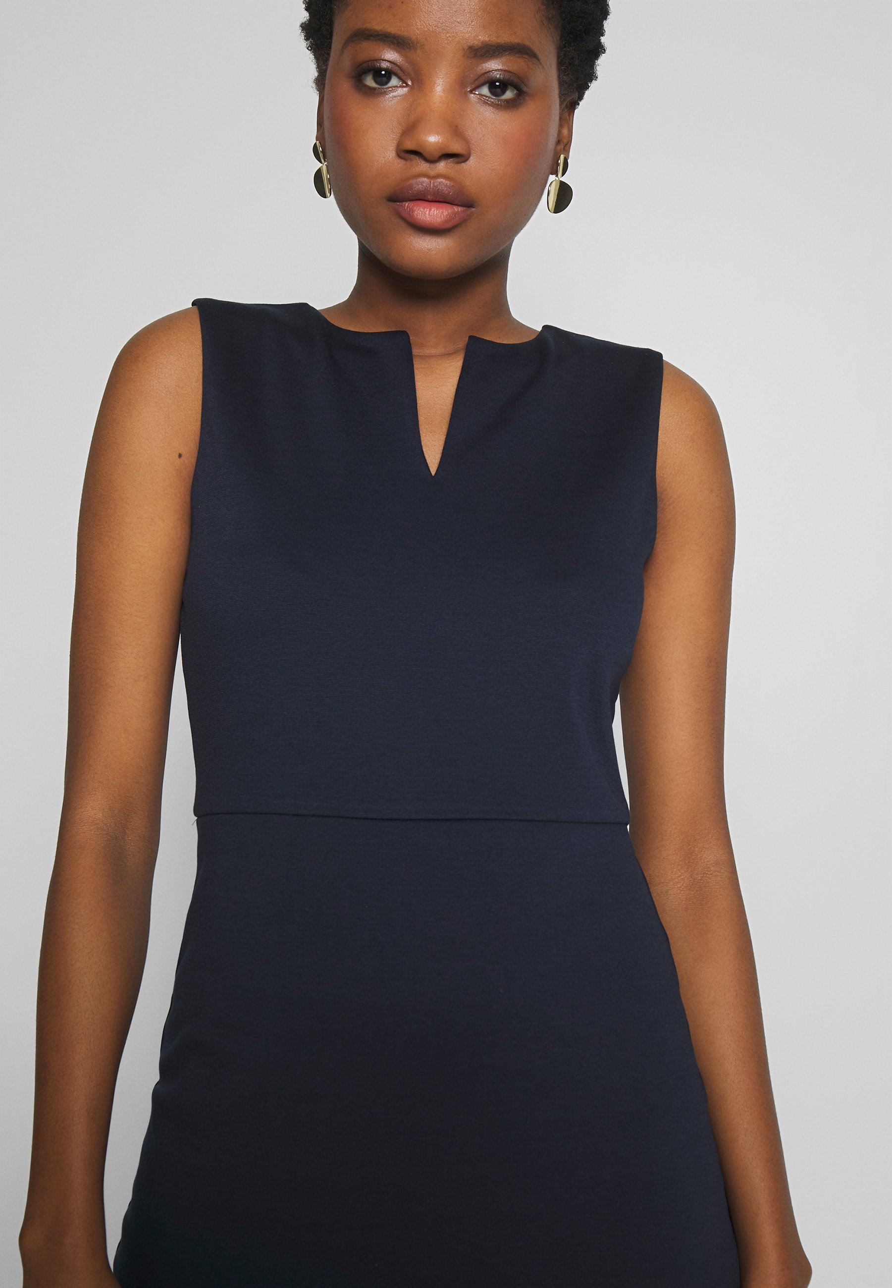 Esprit Collection Dress - Robe En Jersey Navy