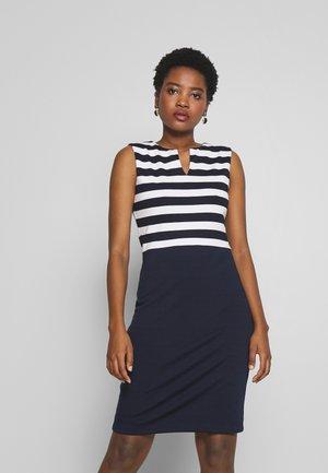 DRESS - Shift dress - navy