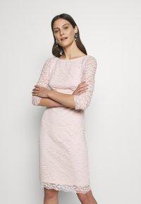 Esprit Collection - LEAVE STRETCH - Vestido de cóctel - pastel pink - 0