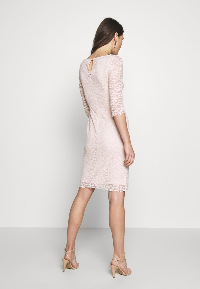 Esprit Collection LEAVE STRETCH - Cocktailkjole - pastel pink