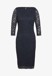 Esprit Collection - LEAVE STRETCH - Vestido de cóctel - navy - 4