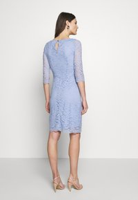 Esprit Collection - LEAVE STRETCH - Vestido de cóctel - blue lavender - 2