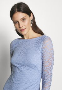 Esprit Collection - LEAVE STRETCH - Vestido de cóctel - blue lavender - 3
