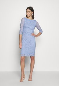 Esprit Collection - LEAVE STRETCH - Vestido de cóctel - blue lavender - 1