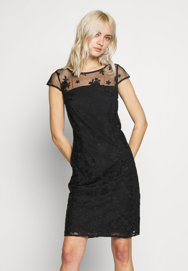 DEGRADÉ FLORAL - Cocktail dress / Party dress - black