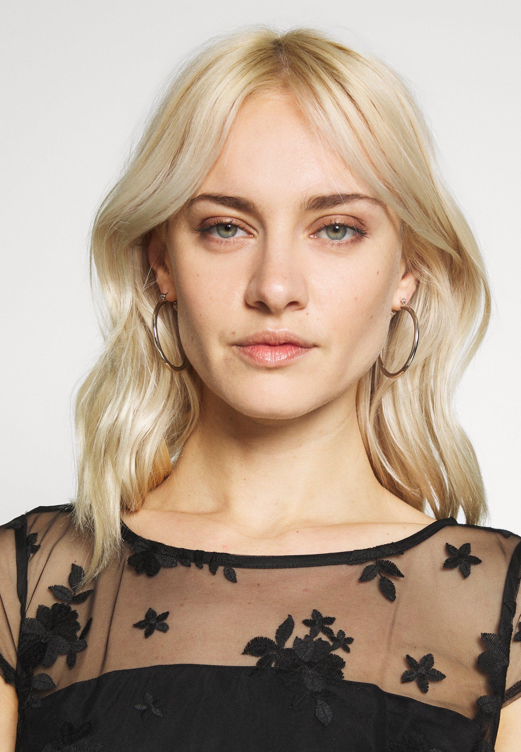 Esprit Collection DEGRADÉ FLORAL - Sukienka koktajlowa - black