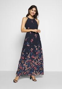 Esprit Collection - FLUENT GEORGE - Maxi dress - navy - 0