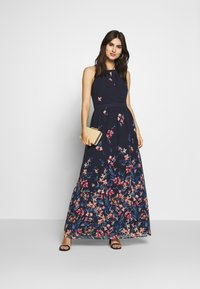 Esprit Collection - FLUENT GEORGE - Maxi dress - navy - 1