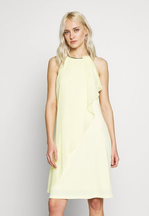 LUX FLUID - Cocktail dress / Party dress - lime yellow