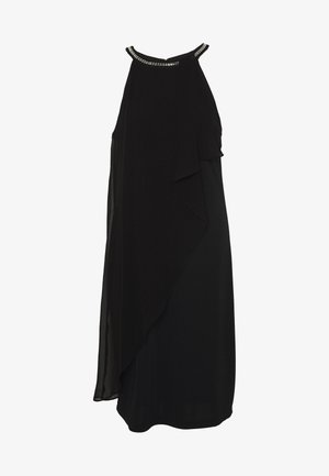 LUX FLUID - Cocktailklänning - black