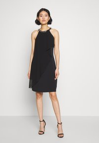 Esprit Collection - LUX FLUID - Vestido de cóctel - black - 2