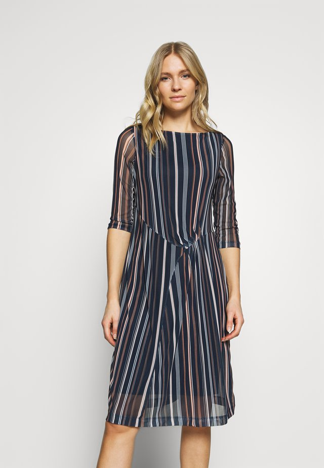 PRINTED - Day dress - navy