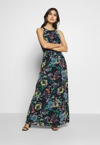 Esprit Collection - FLUENT GEROGE - Maxi dress - navy - 0