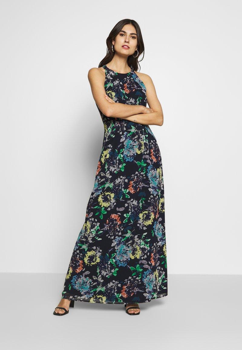 Esprit Collection - FLUENT GEROGE - Maxi dress - navy